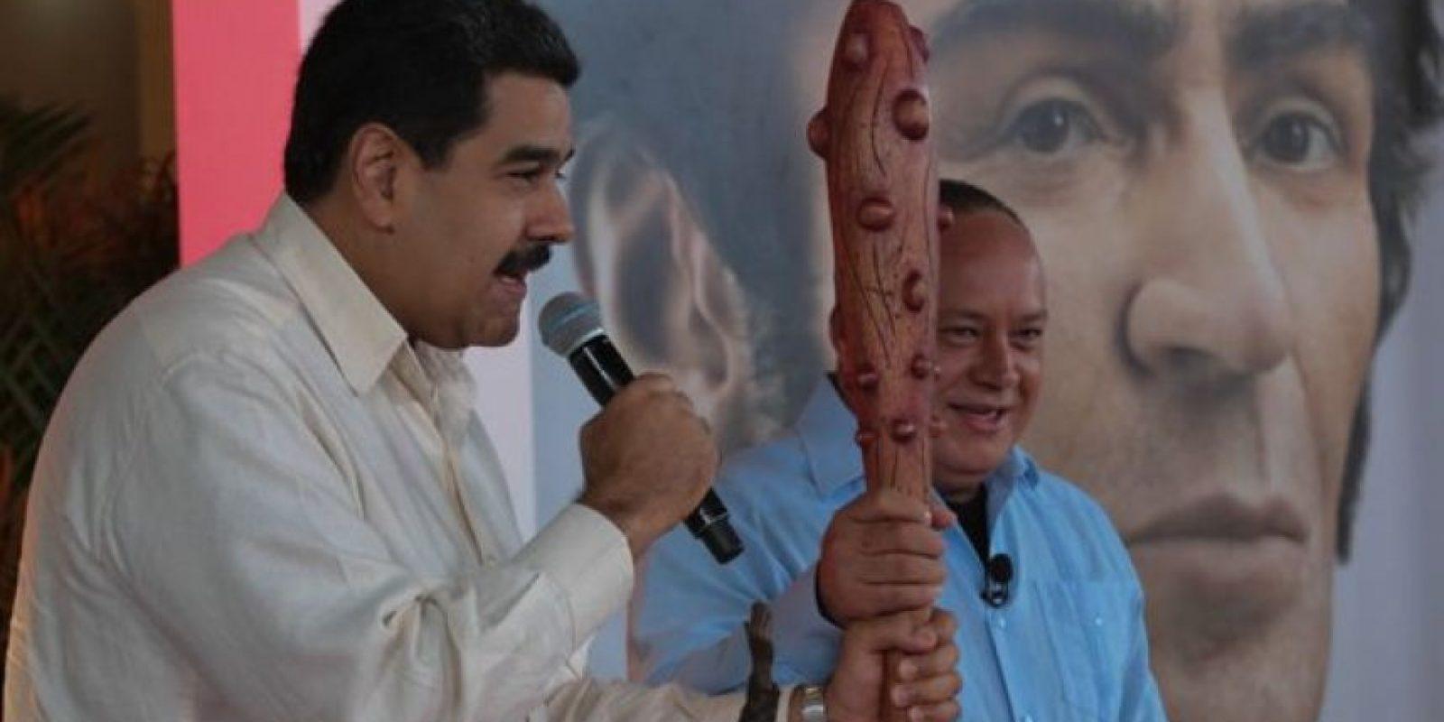 1. Interior: El conflicto con la oposición. Foto:twitter.com/NicolasMaduro
