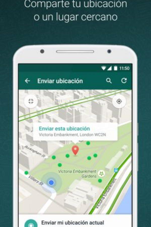 Habrá más seguridad al compartir nuestra ubicación. Foto:WhatsApp