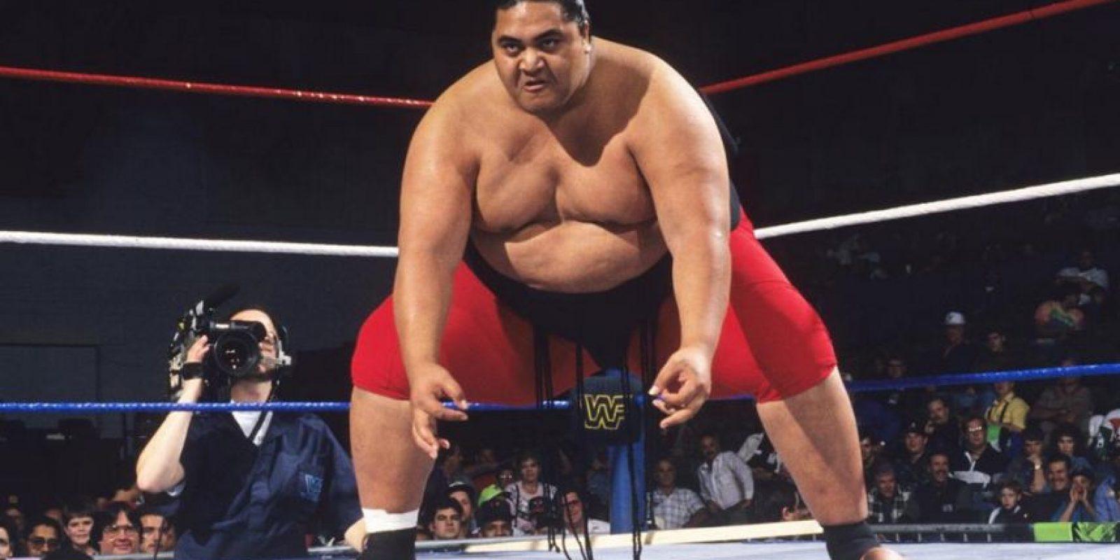 Yokouzuna. Miembro de la dinastía Anoa'I, entró al Salón de la Fama en 2012, 12 años después de su muerte Foto:WWE