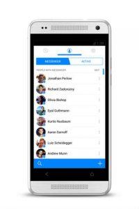 Messenger es una app independiente de la de Facebook. Foto:Facebook