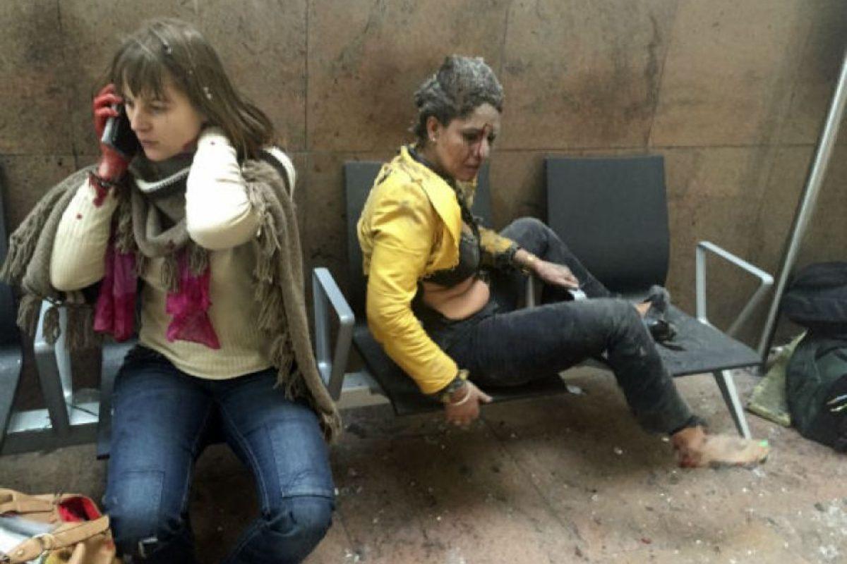 El 22 de marzo el terror invadió Bruselas. Foto:AP