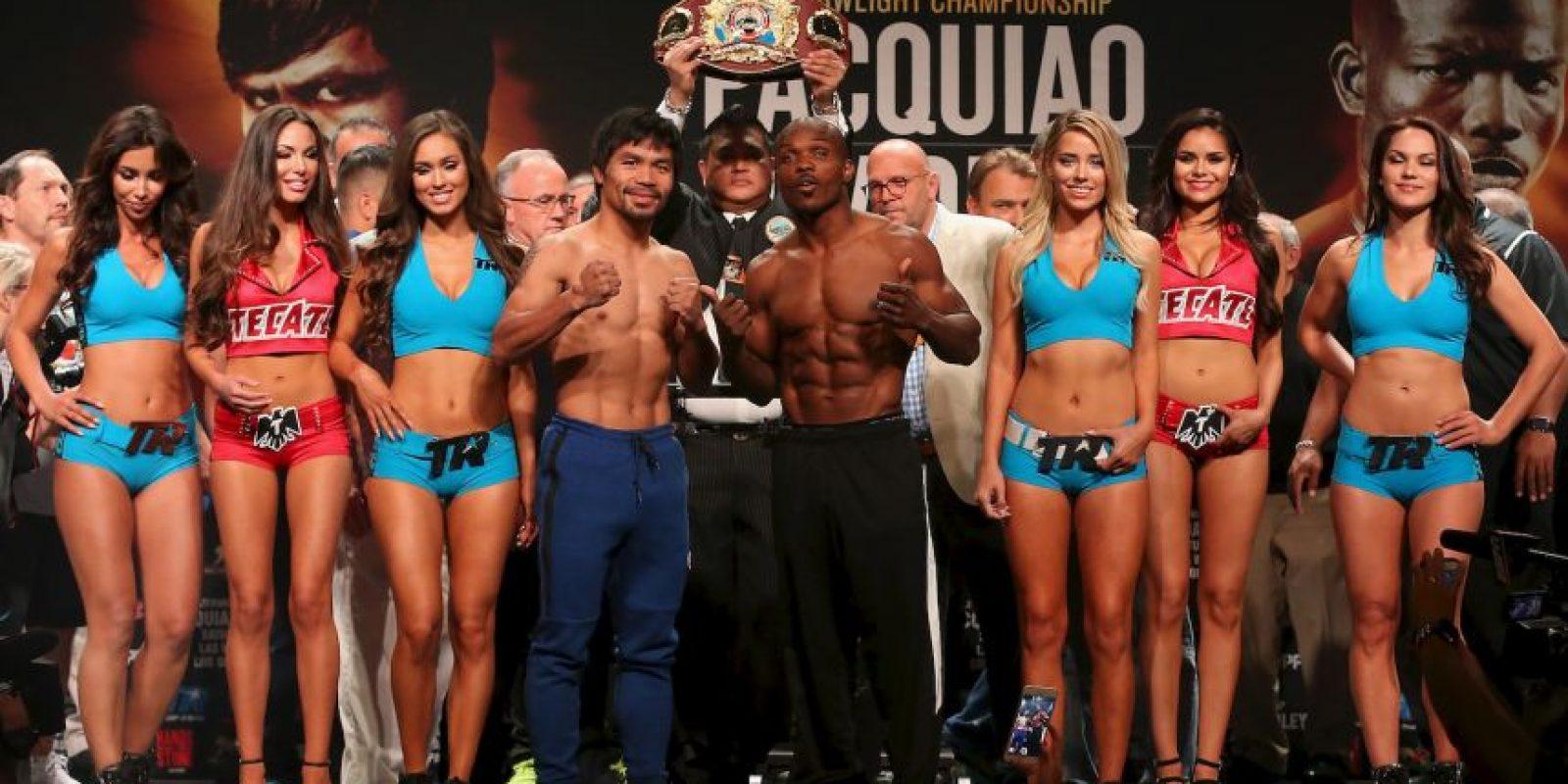 Podría ser la última pelea del filipino Foto:Getty Images