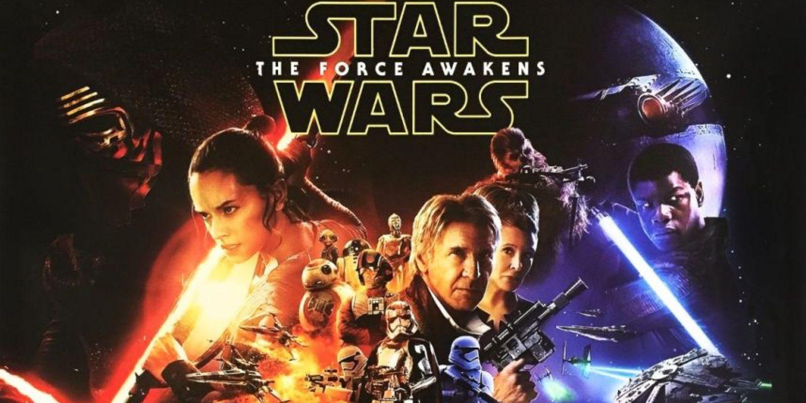 """Star Wars: The Force Awakens"" Foto:Vía Instagram/Movie"