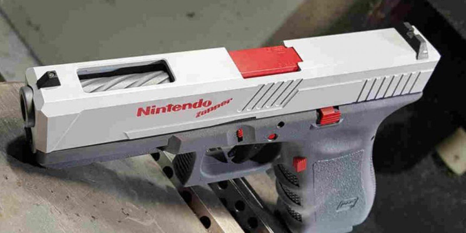 Sí, esta pistola dispara balas reales. Foto:Facebook/Precision Syndicate, LLC