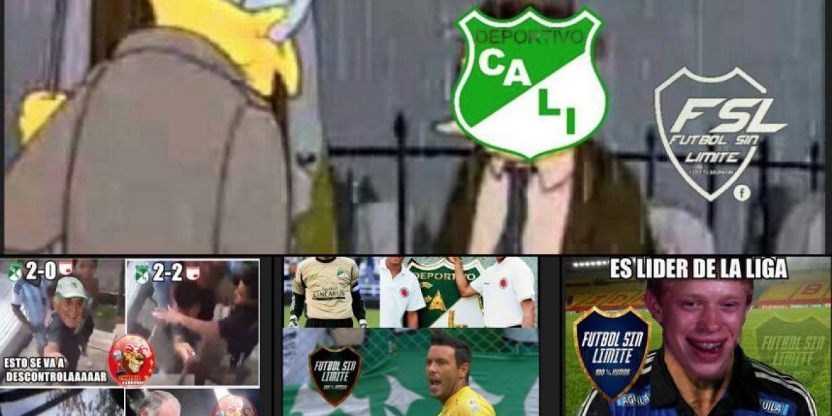 Deportivo Cali se lleva la mayoría de memes de la jornada 12