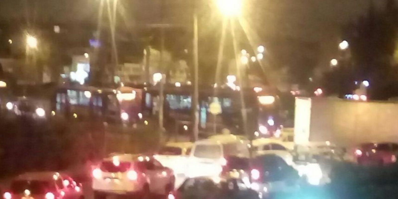 Accidente colapsa vías en el occidente de Bogotá. Foto:Cortesía Carlos Martínez Radio Santa Fe