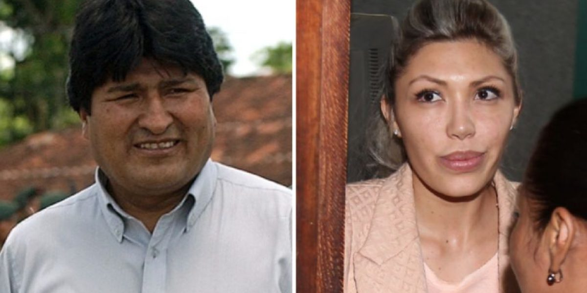 Filtran fotos comprometedoras de expareja de Evo Morales