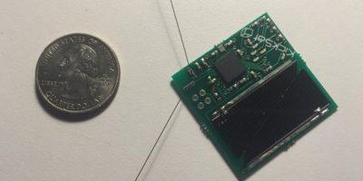 La nave espacial será del tamaño de un chip Foto:Twitter.com