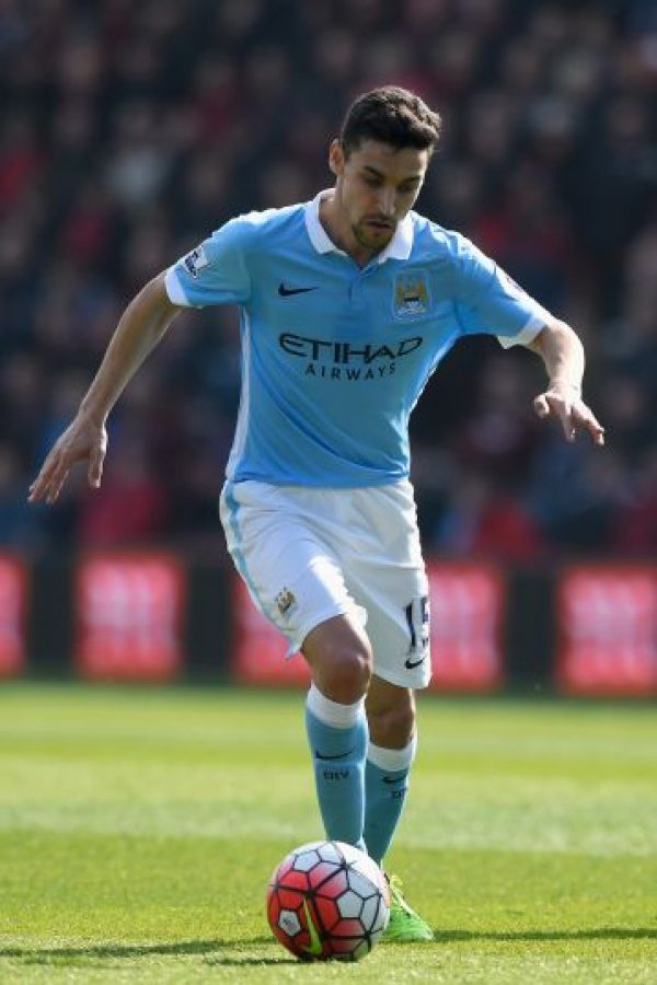 Jesús Navas (Manchester City) Foto: Getty Images