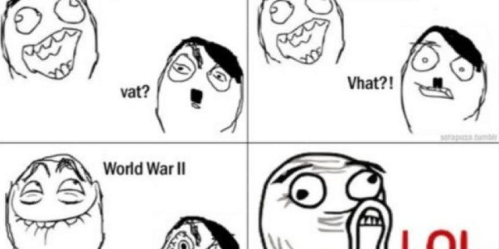 O sobre la derrota de la Segunda Guerra Mundial. Foto:vía QuickMeme