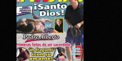 Alberto Cutié se hizo famoso por sus programas en Telemundo. Hasta que en 2009 salió esto. Foto:vía TV Notas