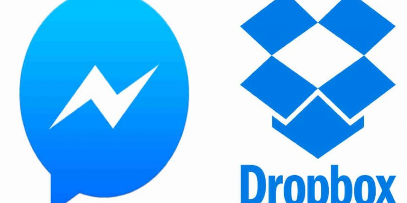 Messenger y Dropbox se unen. Foto:Messenger/Dropbox