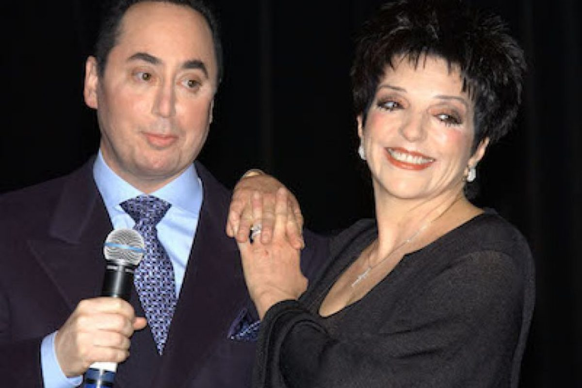 David Gest y Liza Minelli Foto: Getty Images