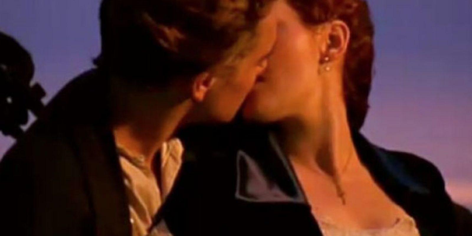 "Rose y Jack en ""Titanic"" Foto:Tumblr"