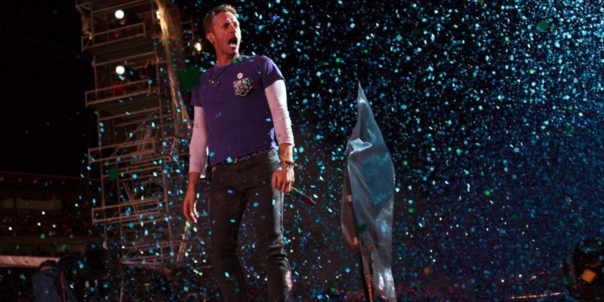 Así fue el concierto de Coldplay en Bogotá