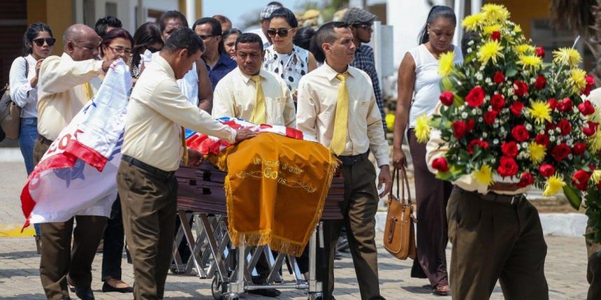 Emotiva ceremonia de cremación de Édgar Perea en Barranquilla