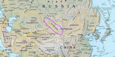 Es una cordillera de Asia central, que ocupa territorios de Rusia, China, Mongolia y Kazajistán Foto:altaiskis.com