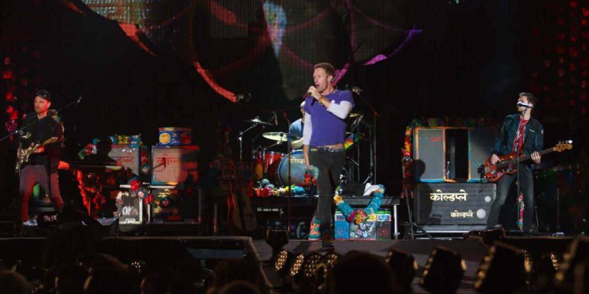 Un falso Chris Martin, enloquece en el concierto de Coldplay en Bogotá
