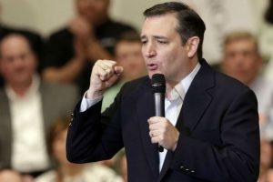 Ted Cruz y familia Foto:Getty Images