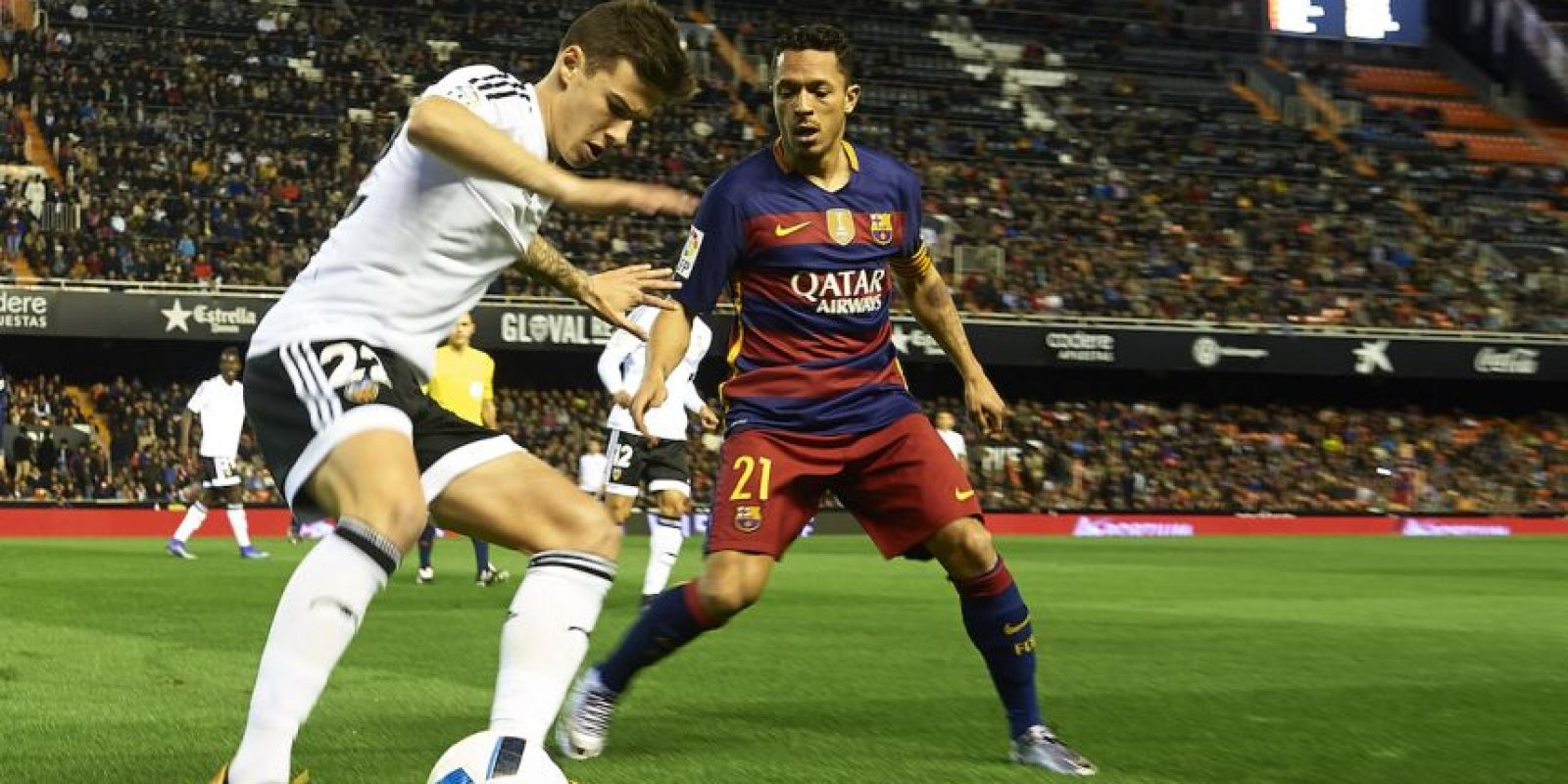 LIGA BBVA: 17 de abril / Barcelona vs. Valencia Foto: Getty Images