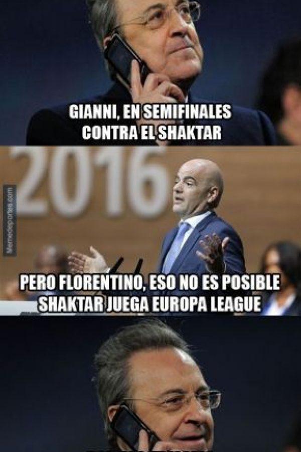 """Y el supuesto """"apoyo"""" de la UEFA a los """"merengues"""" ya son recurrentes. Foto:memedeportes.com"""