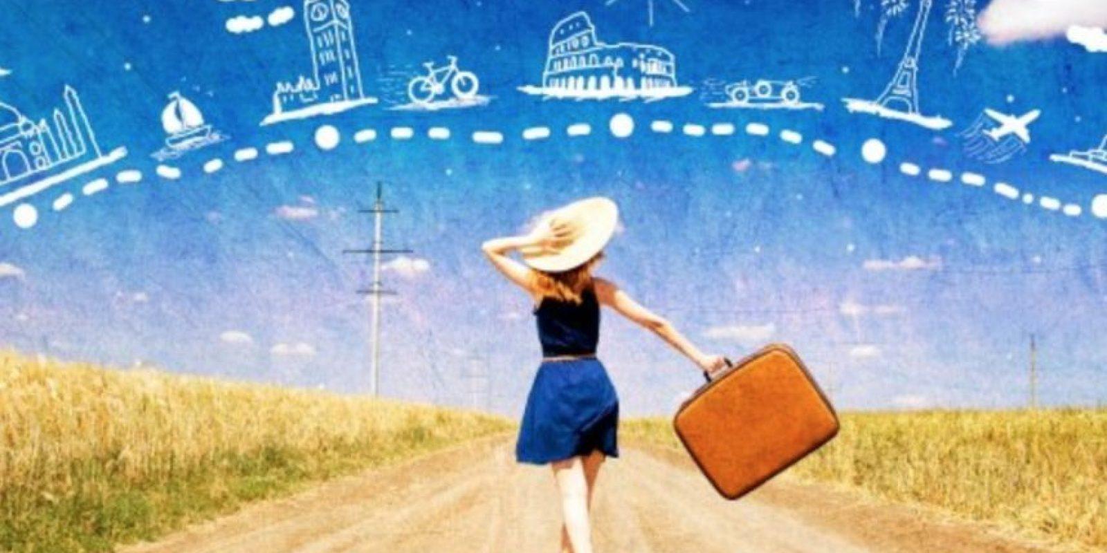 Las personas con constante búsqueda por viajar, siempre se sienten interesados por crecer de manera personal. Foto:Vía tumblr