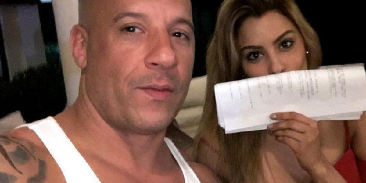 Vin Diesel se deja conquistar por Ariadna Gutiérrez