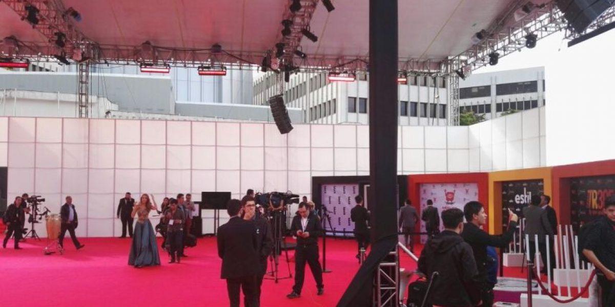 Los famosos se alistan para una nueva entrega de los Premios TV y Novelas