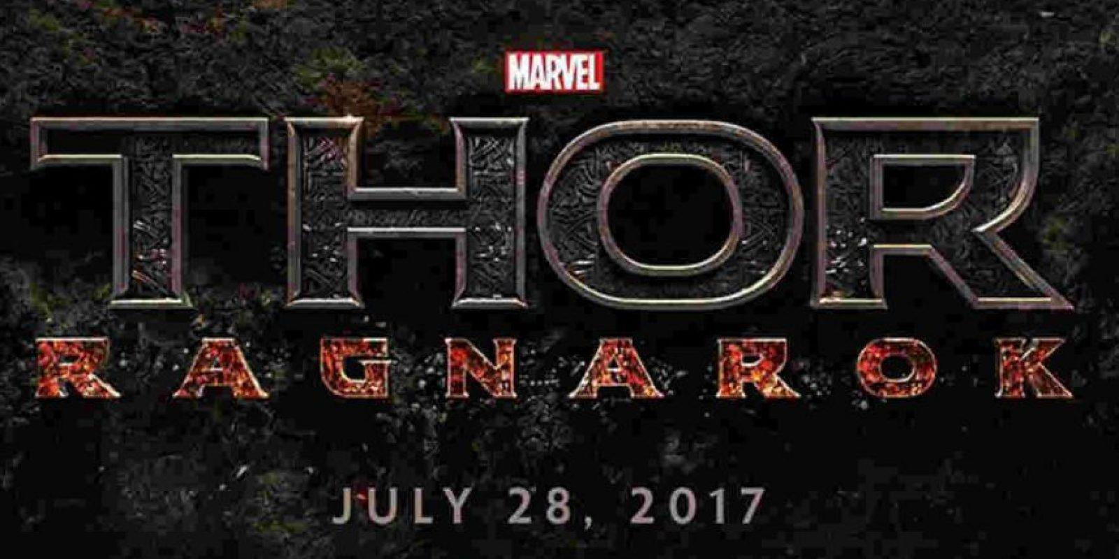 """Thor: Ragnarok"". Noviembre 3, 2017. Foto:Marvel"