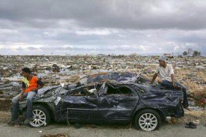 5. 26 de diciembre de 2004, Isla de Sumatra, Indonesia: El tsunami más letal de la historia con una magnitud de 9.1. Foto:Getty Images