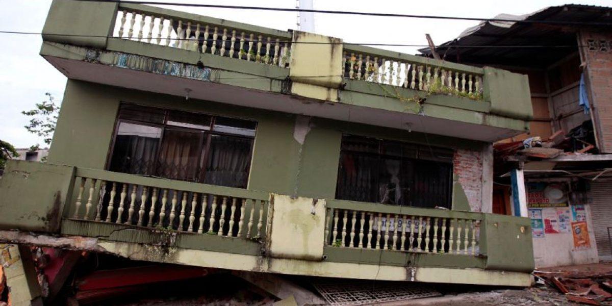 Las impactantes imágenes del terremoto en Ecuador
