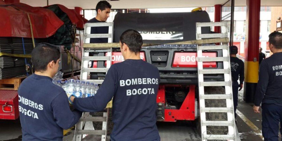 Bomberos de Bogotá apoyarán labores de rescate en Ecuador