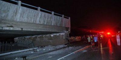 El terremoto se produjo a las 18.58 hora local del sábado, entre los balnearios costeros de Cojimíes y de Pedernales Foto:AP