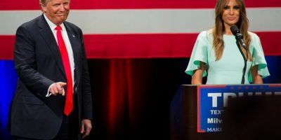 1. El inicio de su campaña presidencial Foto:Getty Images