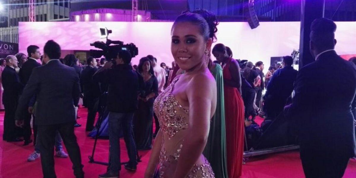 Yina Calderón sorprende en los Premios TVyNovelas
