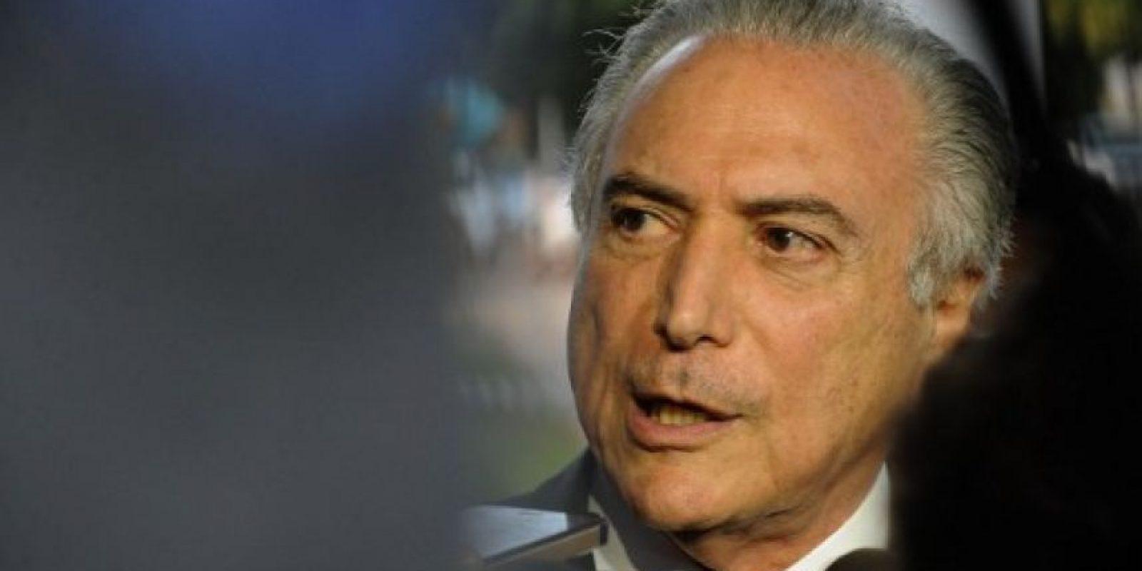 Es un abogado y político brasileño, presidente del Partido del Movimiento Democrático Brasileño. Foto:AFP