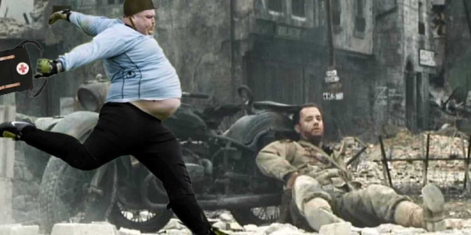Al rescate del soldado Ryan. Foto:reddit.com