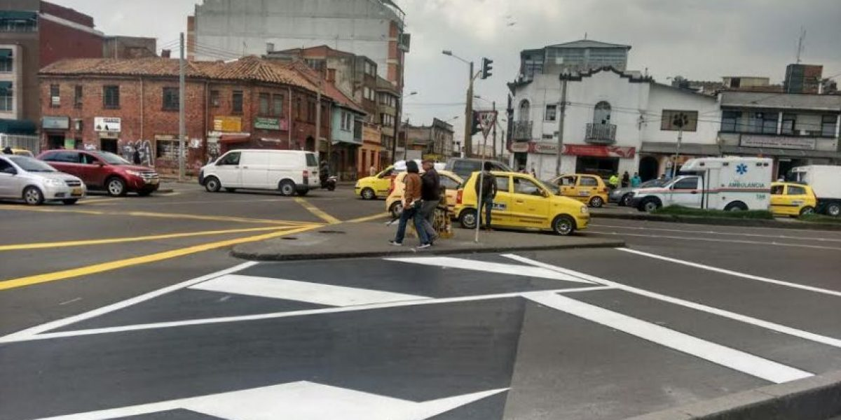 Estos son los cruces más peligrosos en Bogotá