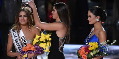 Pia Wurtzbach: Tras una confusión, Miss Filipinas fue nombrada Miss Universo para este año Foto:Getty Images