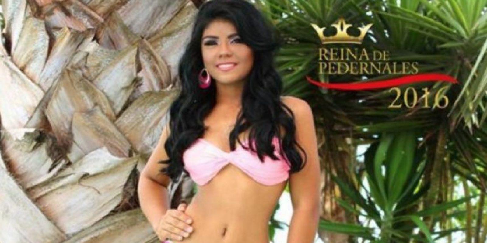 La joven falleció Foto:Vía facebook.com/Reina-de-Pedernales-2016