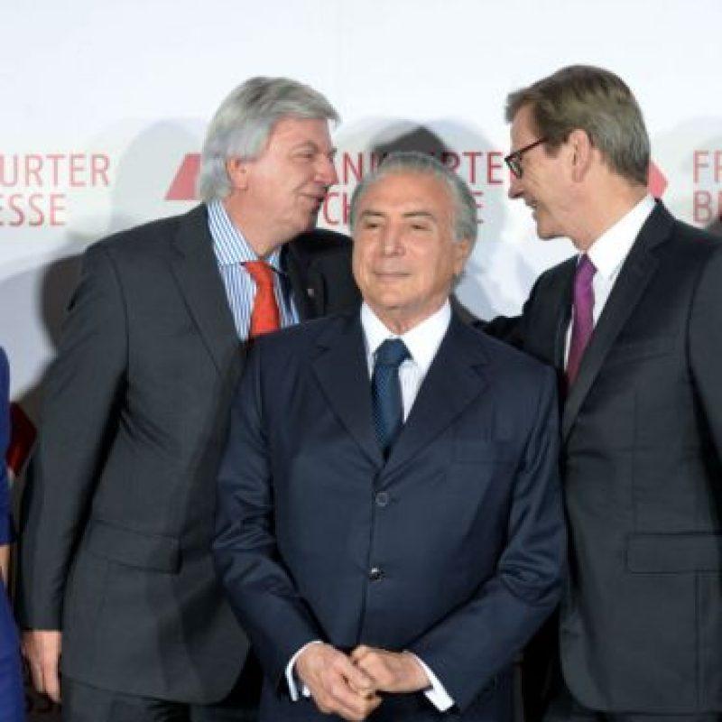 El 29 de marzo, debido a la crisis política de Brasil el PMDB, decidió dejar la coalición. Foto:Getty Images