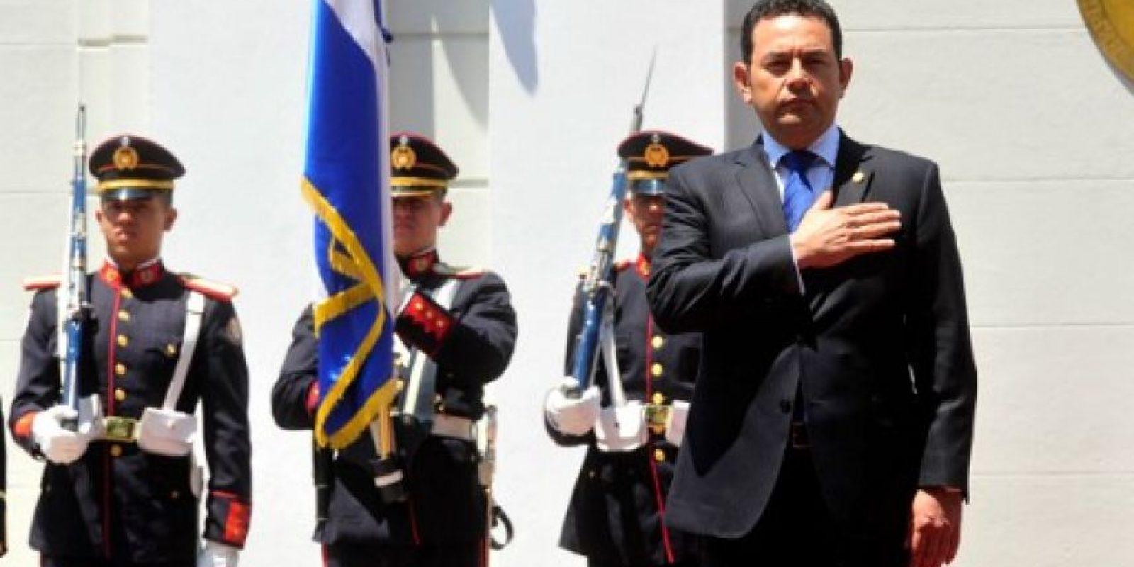 Es un actor, escritor, productor, director y político guatemalteco. Foto:AFP