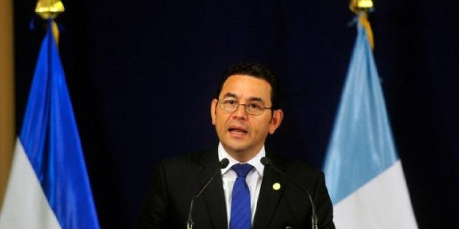 Jimmy Morales Foto:AFP