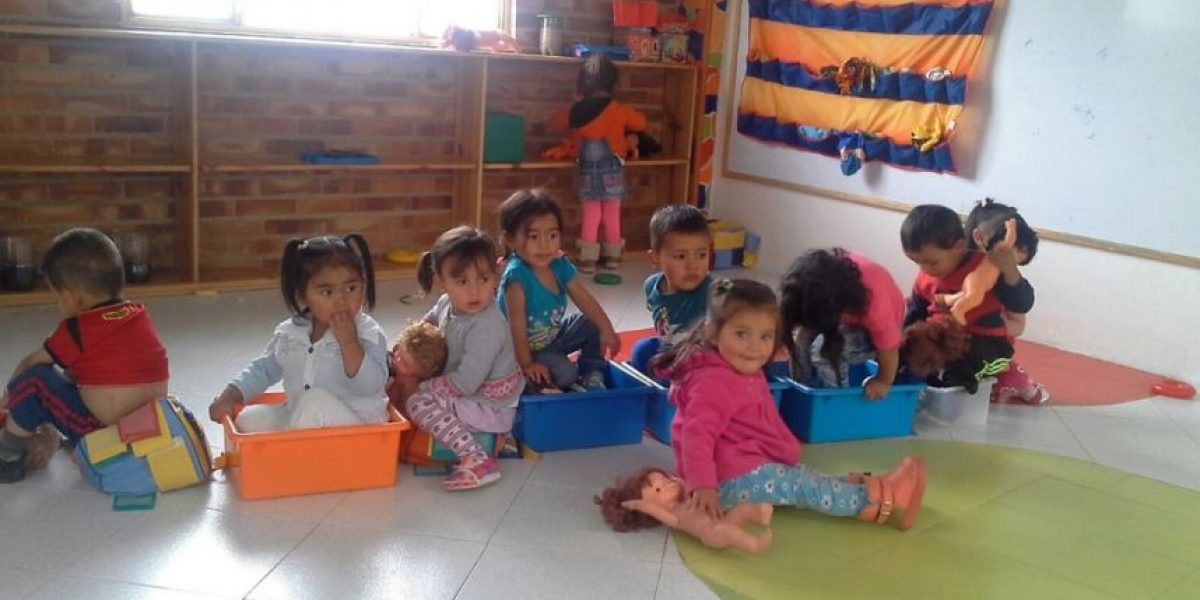 Trueque de juguetes en Palatino para niños de Ciudad Bolívar