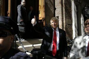 Las encuestas señalan que ganará en Nueva York, su estado natal. Foto:AP