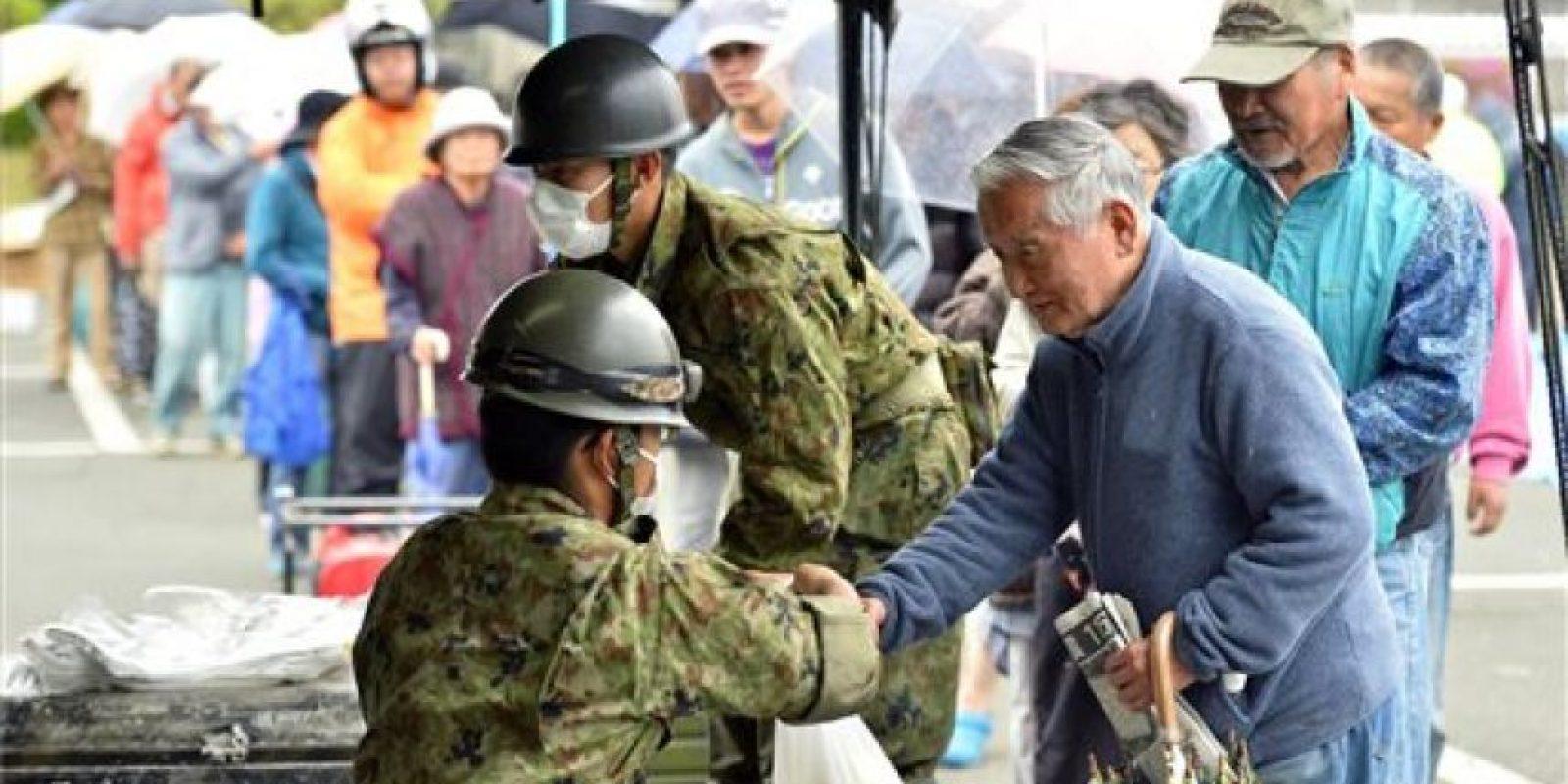 El fin de semana un terremoto sacudió este viernes un área cercana a la ciudad de Kumamoto. Foto:AP