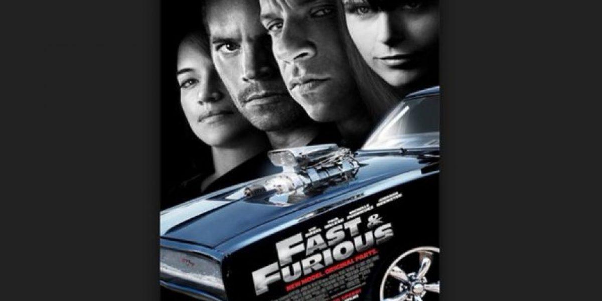 Vin Diesel presentó el primer afiche de