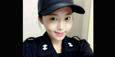 Su nombre es Kim Miso y dejó las pasarelas para convertirse en una policía en Seúl, Corea del Sur. Foto:Vía Instagram