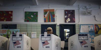 Así fueron las primarias en Nueva York. Foto:vía Getty Images