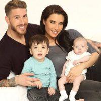 Sergio y Pilar, junto a sus hijos Sergio Jr. y Marco Foto:Vía instagram.com/pilarrubio_oficial